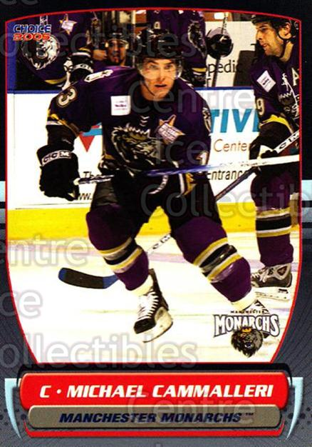 2004-05 Manchester Monarchs #15 Mike Cammalleri<br/>4 In Stock - $3.00 each - <a href=https://centericecollectibles.foxycart.com/cart?name=2004-05%20Manchester%20Monarchs%20%2315%20Mike%20Cammalleri...&quantity_max=4&price=$3.00&code=247845 class=foxycart> Buy it now! </a>