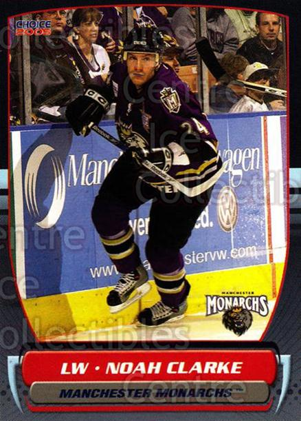 2004-05 Manchester Monarchs #17 Noah Clarke<br/>4 In Stock - $3.00 each - <a href=https://centericecollectibles.foxycart.com/cart?name=2004-05%20Manchester%20Monarchs%20%2317%20Noah%20Clarke...&quantity_max=4&price=$3.00&code=247847 class=foxycart> Buy it now! </a>