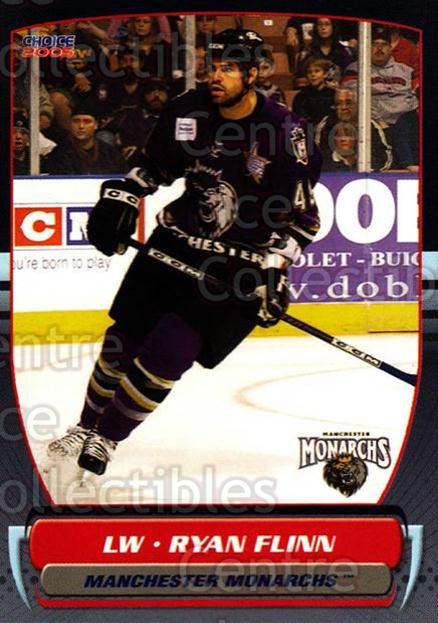 2004-05 Manchester Monarchs #19 Ryan Flinn<br/>4 In Stock - $3.00 each - <a href=https://centericecollectibles.foxycart.com/cart?name=2004-05%20Manchester%20Monarchs%20%2319%20Ryan%20Flinn...&quantity_max=4&price=$3.00&code=247849 class=foxycart> Buy it now! </a>