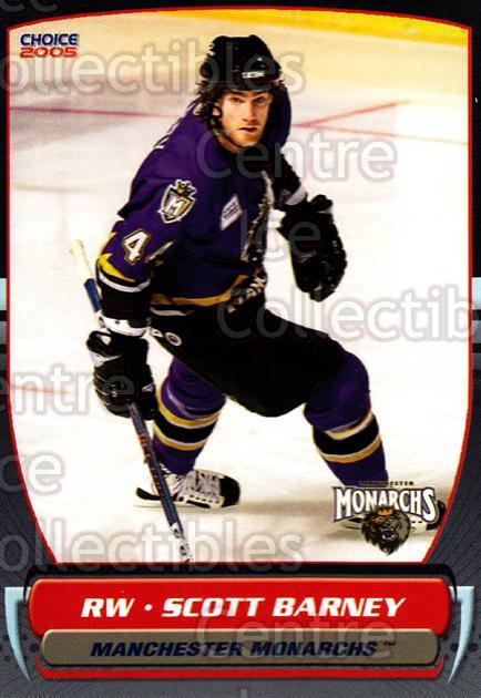 2004-05 Manchester Monarchs #20 Scott Barney<br/>4 In Stock - $3.00 each - <a href=https://centericecollectibles.foxycart.com/cart?name=2004-05%20Manchester%20Monarchs%20%2320%20Scott%20Barney...&quantity_max=4&price=$3.00&code=247850 class=foxycart> Buy it now! </a>