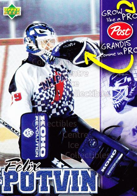 1996-97 Post Cereal Grow Like A Pro #14 Felix Potvin<br/>3 In Stock - $3.00 each - <a href=https://centericecollectibles.foxycart.com/cart?name=1996-97%20Post%20Cereal%20Grow%20Like%20A%20Pro%20%2314%20Felix%20Potvin...&quantity_max=3&price=$3.00&code=248056 class=foxycart> Buy it now! </a>