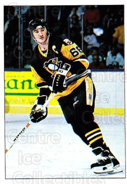 1990-91 Panini Stickers #326 Mario Lemieux<br/>6 In Stock - $2.00 each - <a href=https://centericecollectibles.foxycart.com/cart?name=1990-91%20Panini%20Stickers%20%23326%20Mario%20Lemieux...&price=$2.00&code=248071 class=foxycart> Buy it now! </a>