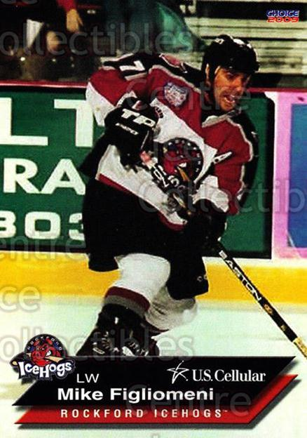 2008-09 Rockford Ice Hogs #6 Mike Figliomeni<br/>10 In Stock - $3.00 each - <a href=https://centericecollectibles.foxycart.com/cart?name=2008-09%20Rockford%20Ice%20Hogs%20%236%20Mike%20Figliomeni...&quantity_max=10&price=$3.00&code=248125 class=foxycart> Buy it now! </a>