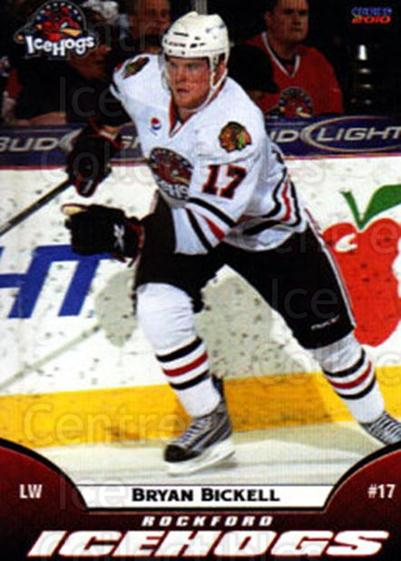 2009-10 Rockford Ice Hogs #2 Bryan Bickell<br/>2 In Stock - $3.00 each - <a href=https://centericecollectibles.foxycart.com/cart?name=2009-10%20Rockford%20Ice%20Hogs%20%232%20Bryan%20Bickell...&quantity_max=2&price=$3.00&code=248142 class=foxycart> Buy it now! </a>