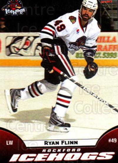 2009-10 Rockford Ice Hogs #16 Ryan Flinn<br/>6 In Stock - $3.00 each - <a href=https://centericecollectibles.foxycart.com/cart?name=2009-10%20Rockford%20Ice%20Hogs%20%2316%20Ryan%20Flinn...&quantity_max=6&price=$3.00&code=248156 class=foxycart> Buy it now! </a>