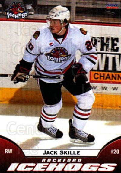2009-10 Rockford Ice Hogs #24 Jack Skille<br/>5 In Stock - $3.00 each - <a href=https://centericecollectibles.foxycart.com/cart?name=2009-10%20Rockford%20Ice%20Hogs%20%2324%20Jack%20Skille...&quantity_max=5&price=$3.00&code=248164 class=foxycart> Buy it now! </a>