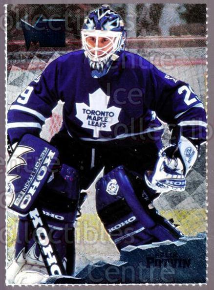 1995-96 Metal Promos #1 Felix Potvin<br/>4 In Stock - $3.00 each - <a href=https://centericecollectibles.foxycart.com/cart?name=1995-96%20Metal%20Promos%20%231%20Felix%20Potvin...&quantity_max=4&price=$3.00&code=248168 class=foxycart> Buy it now! </a>