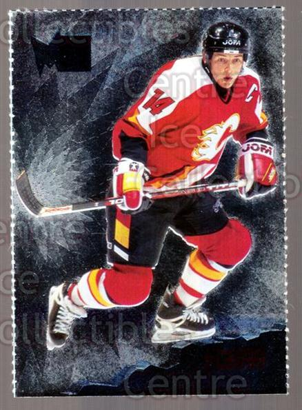 1995-96 Metal Promos #3 Theo Fleury<br/>6 In Stock - $3.00 each - <a href=https://centericecollectibles.foxycart.com/cart?name=1995-96%20Metal%20Promos%20%233%20Theo%20Fleury...&quantity_max=6&price=$3.00&code=248170 class=foxycart> Buy it now! </a>