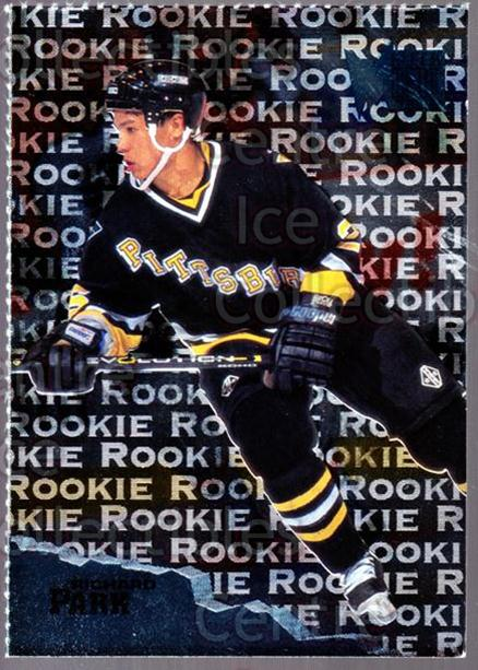 1995-96 Metal Promos #4 Richard Park<br/>7 In Stock - $3.00 each - <a href=https://centericecollectibles.foxycart.com/cart?name=1995-96%20Metal%20Promos%20%234%20Richard%20Park...&price=$3.00&code=248171 class=foxycart> Buy it now! </a>