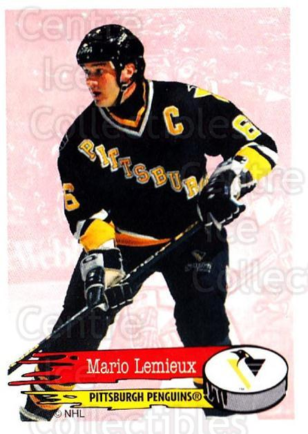 1995-96 Panini Stickers #59 Mario Lemieux<br/>3 In Stock - $2.00 each - <a href=https://centericecollectibles.foxycart.com/cart?name=1995-96%20Panini%20Stickers%20%2359%20Mario%20Lemieux...&quantity_max=3&price=$2.00&code=248195 class=foxycart> Buy it now! </a>