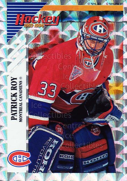 1993-94 Panini Stickers Inserts #B Patrick Roy<br/>2 In Stock - $3.00 each - <a href=https://centericecollectibles.foxycart.com/cart?name=1993-94%20Panini%20Stickers%20Inserts%20%23B%20Patrick%20Roy...&quantity_max=2&price=$3.00&code=248205 class=foxycart> Buy it now! </a>