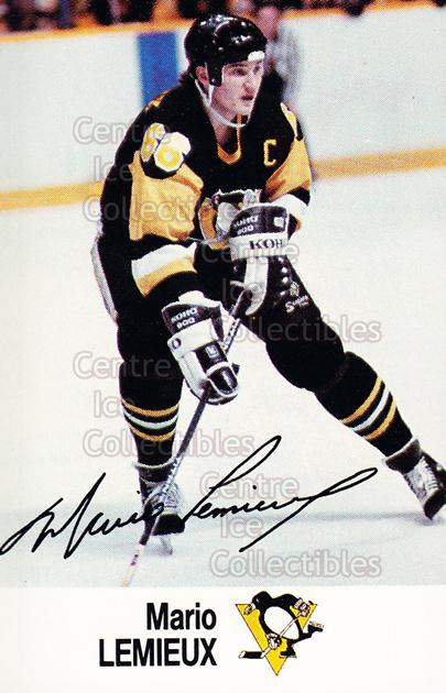 1988-89 Esso #27 Mario Lemieux<br/>11 In Stock - $3.00 each - <a href=https://centericecollectibles.foxycart.com/cart?name=1988-89%20Esso%20%2327%20Mario%20Lemieux...&price=$3.00&code=248212 class=foxycart> Buy it now! </a>