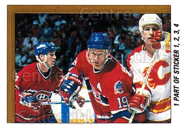 1989-90 O-Pee-Chee Stickers #001-0 Larry Robinson, Lanny McDonald, Jim Peplinski<br/>9 In Stock - $2.00 each - <a href=https://centericecollectibles.foxycart.com/cart?name=1989-90%20O-Pee-Chee%20Stickers%20%23001-0%20Larry%20Robinson,...&quantity_max=9&price=$2.00&code=248217 class=foxycart> Buy it now! </a>