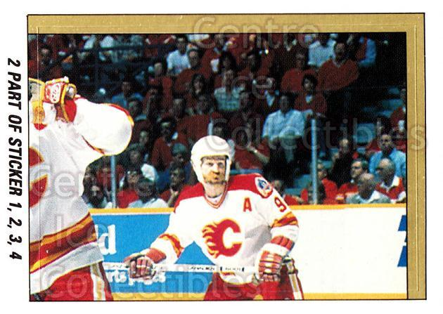 1989-90 O-Pee-Chee Stickers #002-0 Larry Robinson, Lanny McDonald, Jim Peplinski, Zarley Zalapski<br/>8 In Stock - $2.00 each - <a href=https://centericecollectibles.foxycart.com/cart?name=1989-90%20O-Pee-Chee%20Stickers%20%23002-0%20Larry%20Robinson,...&quantity_max=8&price=$2.00&code=248218 class=foxycart> Buy it now! </a>