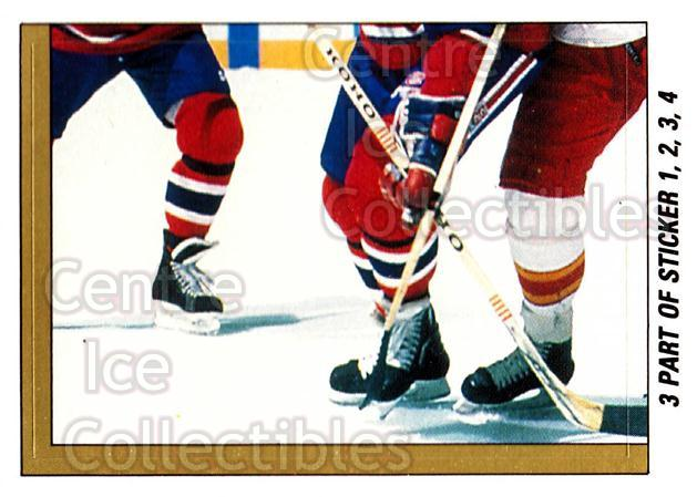 1989-90 O-Pee-Chee Stickers #003-0 Larry Robinson, Lanny McDonald, Jim Peplinski<br/>8 In Stock - $2.00 each - <a href=https://centericecollectibles.foxycart.com/cart?name=1989-90%20O-Pee-Chee%20Stickers%20%23003-0%20Larry%20Robinson,...&quantity_max=8&price=$2.00&code=248219 class=foxycart> Buy it now! </a>