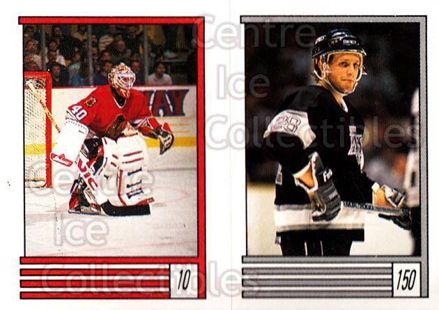 1989-90 O-Pee-Chee Stickers #010-150 Darren Pang, Steve Duchesne, Tony Granato<br/>9 In Stock - $1.00 each - <a href=https://centericecollectibles.foxycart.com/cart?name=1989-90%20O-Pee-Chee%20Stickers%20%23010-150%20Darren%20Pang,%20St...&quantity_max=9&price=$1.00&code=248226 class=foxycart> Buy it now! </a>