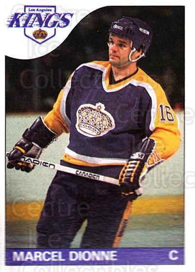 1985-86 Topps #90 Marcel Dionne<br/>1 In Stock - $2.00 each - <a href=https://centericecollectibles.foxycart.com/cart?name=1985-86%20Topps%20%2390%20Marcel%20Dionne...&quantity_max=1&price=$2.00&code=24823 class=foxycart> Buy it now! </a>
