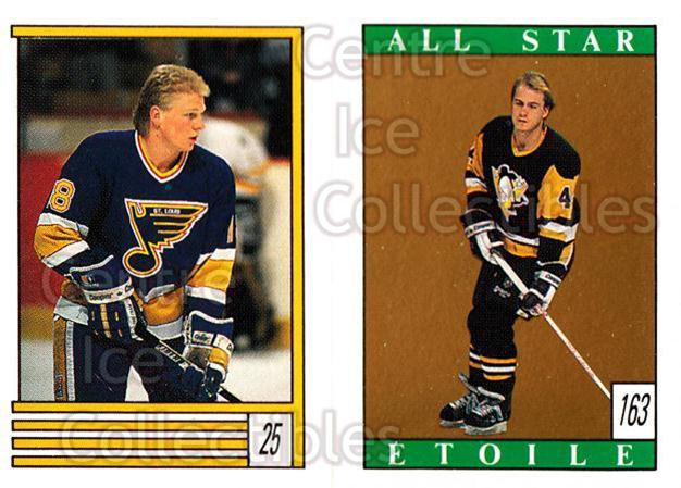 1989-90 O-Pee-Chee Stickers #025-163 Tony Hrkac, Rob Brown<br/>12 In Stock - $1.00 each - <a href=https://centericecollectibles.foxycart.com/cart?name=1989-90%20O-Pee-Chee%20Stickers%20%23025-163%20Tony%20Hrkac,%20Rob...&quantity_max=12&price=$1.00&code=248241 class=foxycart> Buy it now! </a>