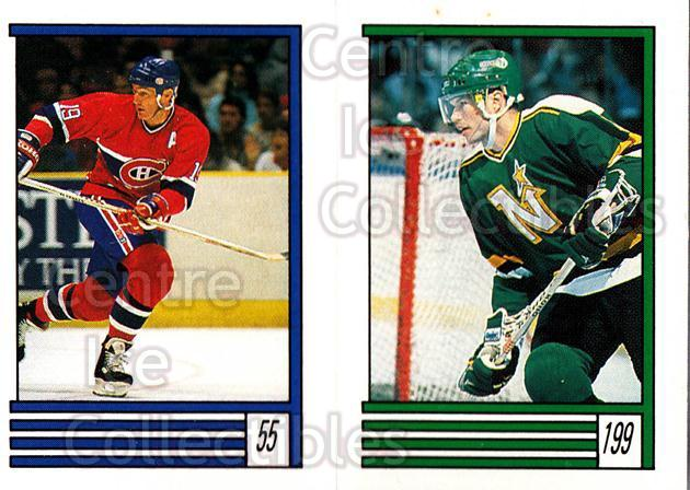 1989-90 O-Pee-Chee Stickers #055-199 Larry Robinson, Larry Murphy, Mario Lemieux<br/>6 In Stock - $2.00 each - <a href=https://centericecollectibles.foxycart.com/cart?name=1989-90%20O-Pee-Chee%20Stickers%20%23055-199%20Larry%20Robinson,...&price=$2.00&code=248271 class=foxycart> Buy it now! </a>