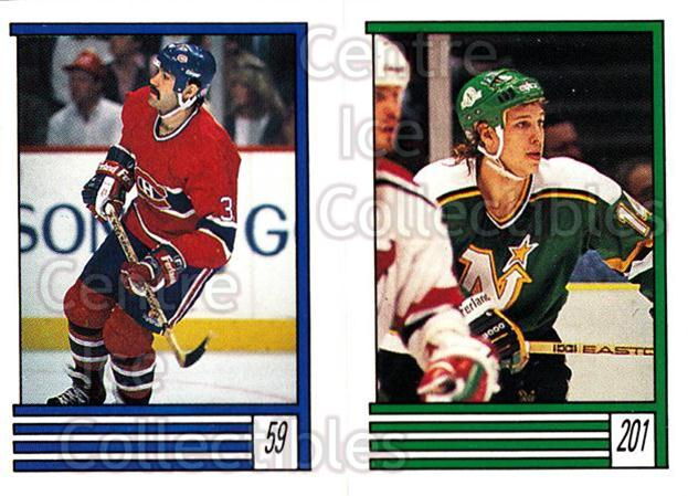 1989-90 O-Pee-Chee Stickers #059-201 Mike McPhee, Dave Archibald<br/>11 In Stock - $1.00 each - <a href=https://centericecollectibles.foxycart.com/cart?name=1989-90%20O-Pee-Chee%20Stickers%20%23059-201%20Mike%20McPhee,%20Da...&quantity_max=11&price=$1.00&code=248275 class=foxycart> Buy it now! </a>