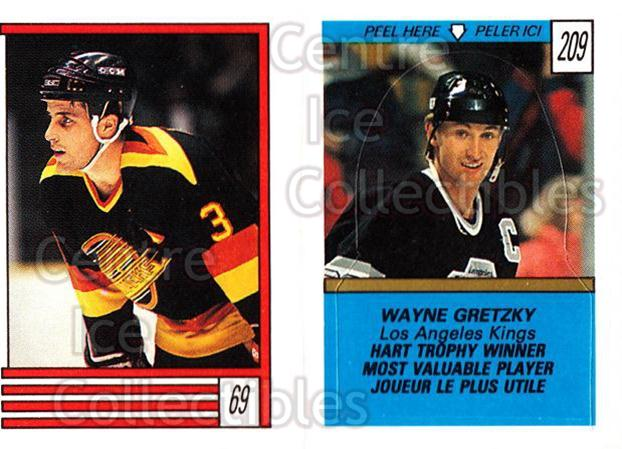 1989-90 O-Pee-Chee Stickers #069-209 Doug Lidster, Wayne Gretzky<br/>20 In Stock - $3.00 each - <a href=https://centericecollectibles.foxycart.com/cart?name=1989-90%20O-Pee-Chee%20Stickers%20%23069-209%20Doug%20Lidster,%20W...&quantity_max=20&price=$3.00&code=248285 class=foxycart> Buy it now! </a>