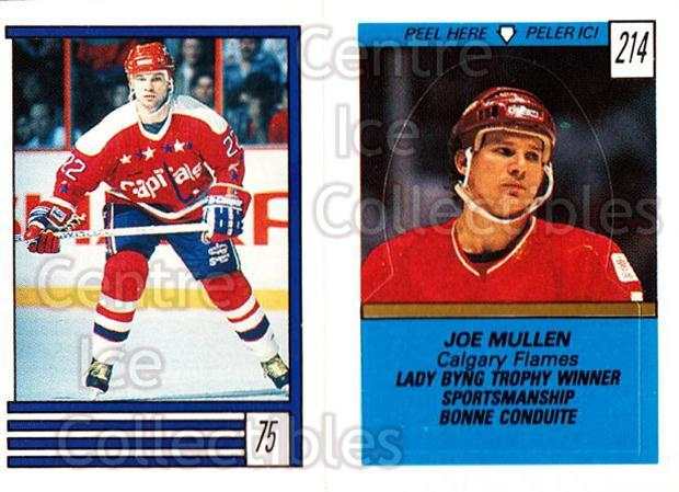 1989-90 O-Pee-Chee Stickers #075-214 Dino Ciccarelli, Joe Mullen<br/>11 In Stock - $1.00 each - <a href=https://centericecollectibles.foxycart.com/cart?name=1989-90%20O-Pee-Chee%20Stickers%20%23075-214%20Dino%20Ciccarelli...&quantity_max=11&price=$1.00&code=248291 class=foxycart> Buy it now! </a>