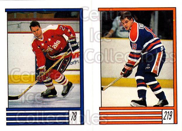 1989-90 O-Pee-Chee Stickers #078-219 Dave Christian, Esa Tikkanen<br/>6 In Stock - $1.00 each - <a href=https://centericecollectibles.foxycart.com/cart?name=1989-90%20O-Pee-Chee%20Stickers%20%23078-219%20Dave%20Christian,...&quantity_max=6&price=$1.00&code=248294 class=foxycart> Buy it now! </a>