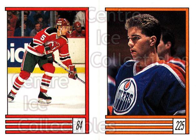 1989-90 O-Pee-Chee Stickers #084-225 Tom Kurvers, Chris Joseph<br/>11 In Stock - $1.00 each - <a href=https://centericecollectibles.foxycart.com/cart?name=1989-90%20O-Pee-Chee%20Stickers%20%23084-225%20Tom%20Kurvers,%20Ch...&quantity_max=11&price=$1.00&code=248300 class=foxycart> Buy it now! </a>