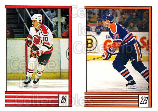 1989-90 O-Pee-Chee Stickers #088-229 Aaron Broten, Craig Muni, Gord Murphy<br/>9 In Stock - $1.00 each - <a href=https://centericecollectibles.foxycart.com/cart?name=1989-90%20O-Pee-Chee%20Stickers%20%23088-229%20Aaron%20Broten,%20C...&quantity_max=9&price=$1.00&code=248304 class=foxycart> Buy it now! </a>