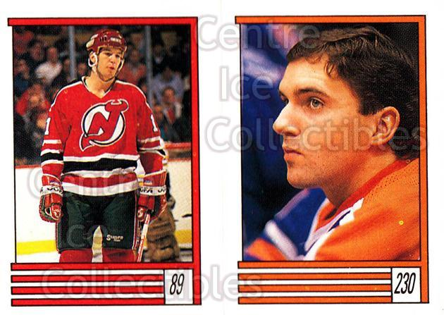 1989-90 O-Pee-Chee Stickers #089-230 Brendan Shanahan, Bill Ranford<br/>8 In Stock - $2.00 each - <a href=https://centericecollectibles.foxycart.com/cart?name=1989-90%20O-Pee-Chee%20Stickers%20%23089-230%20Brendan%20Shanaha...&quantity_max=8&price=$2.00&code=248305 class=foxycart> Buy it now! </a>