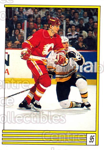 1989-90 O-Pee-Chee Stickers #095-0 Al MacInnis<br/>9 In Stock - $2.00 each - <a href=https://centericecollectibles.foxycart.com/cart?name=1989-90%20O-Pee-Chee%20Stickers%20%23095-0%20Al%20MacInnis...&quantity_max=9&price=$2.00&code=248311 class=foxycart> Buy it now! </a>