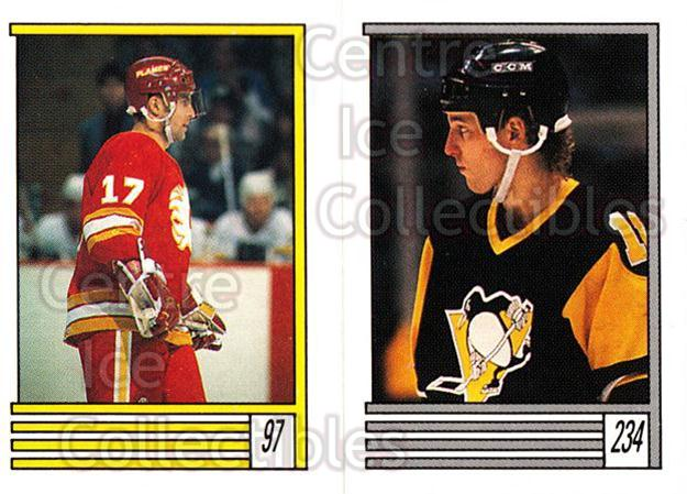 1989-90 O-Pee-Chee Stickers #097-234 Jiri Hrdina, Dan Quinn<br/>9 In Stock - $1.00 each - <a href=https://centericecollectibles.foxycart.com/cart?name=1989-90%20O-Pee-Chee%20Stickers%20%23097-234%20Jiri%20Hrdina,%20Da...&quantity_max=9&price=$1.00&code=248313 class=foxycart> Buy it now! </a>