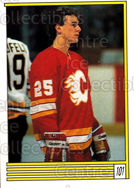 1989-90 O-Pee-Chee Stickers #101-0 Joe Nieuwendyk<br/>9 In Stock - $2.00 each - <a href=https://centericecollectibles.foxycart.com/cart?name=1989-90%20O-Pee-Chee%20Stickers%20%23101-0%20Joe%20Nieuwendyk...&quantity_max=9&price=$2.00&code=248317 class=foxycart> Buy it now! </a>