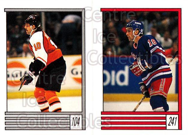 1989-90 O-Pee-Chee Stickers #104-241 Mike Bullard, Tony Granato<br/>11 In Stock - $1.00 each - <a href=https://centericecollectibles.foxycart.com/cart?name=1989-90%20O-Pee-Chee%20Stickers%20%23104-241%20Mike%20Bullard,%20T...&quantity_max=11&price=$1.00&code=248320 class=foxycart> Buy it now! </a>