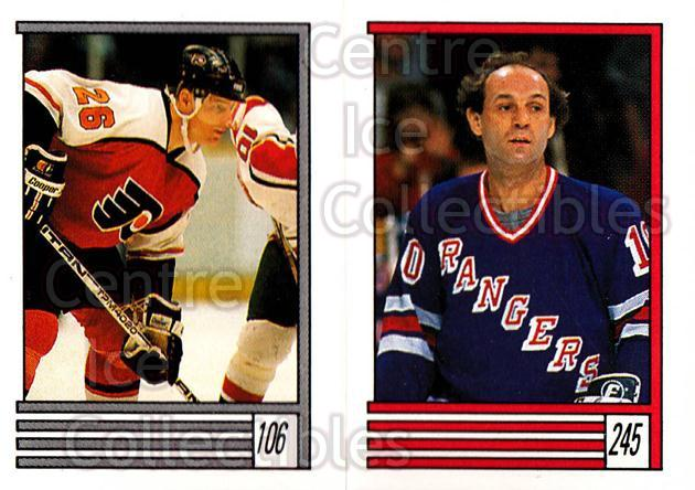 1989-90 O-Pee-Chee Stickers #106-245 Brian Propp, Guy LaFleur<br/>9 In Stock - $2.00 each - <a href=https://centericecollectibles.foxycart.com/cart?name=1989-90%20O-Pee-Chee%20Stickers%20%23106-245%20Brian%20Propp,%20Gu...&quantity_max=9&price=$2.00&code=248322 class=foxycart> Buy it now! </a>