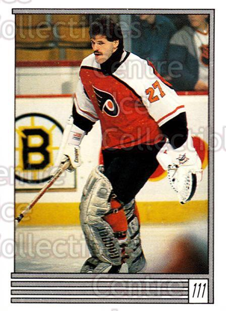 1989-90 O-Pee-Chee Stickers #111-0 Ron Hextall<br/>6 In Stock - $1.00 each - <a href=https://centericecollectibles.foxycart.com/cart?name=1989-90%20O-Pee-Chee%20Stickers%20%23111-0%20Ron%20Hextall...&quantity_max=6&price=$1.00&code=248327 class=foxycart> Buy it now! </a>