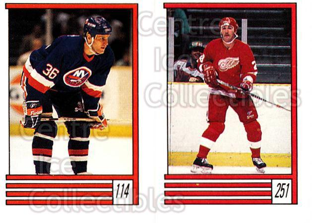 1989-90 O-Pee-Chee Stickers #114-251 Gary Nylund, Lee Norwood<br/>12 In Stock - $1.00 each - <a href=https://centericecollectibles.foxycart.com/cart?name=1989-90%20O-Pee-Chee%20Stickers%20%23114-251%20Gary%20Nylund,%20Le...&quantity_max=12&price=$1.00&code=248330 class=foxycart> Buy it now! </a>
