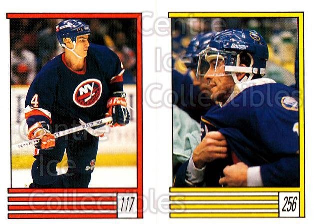 1989-90 O-Pee-Chee Stickers #117-256 Gerald Diduck, Rick Vaive, Rob Brown<br/>5 In Stock - $1.00 each - <a href=https://centericecollectibles.foxycart.com/cart?name=1989-90%20O-Pee-Chee%20Stickers%20%23117-256%20Gerald%20Diduck,%20...&quantity_max=5&price=$1.00&code=248333 class=foxycart> Buy it now! </a>