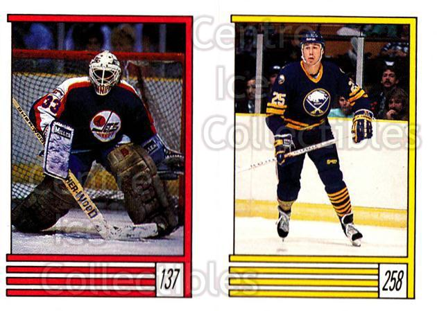1989-90 O-Pee-Chee Stickers #137-258 Eldon Reddick, Dave Andreychuk<br/>10 In Stock - $1.00 each - <a href=https://centericecollectibles.foxycart.com/cart?name=1989-90%20O-Pee-Chee%20Stickers%20%23137-258%20Eldon%20Reddick,%20...&quantity_max=10&price=$1.00&code=248353 class=foxycart> Buy it now! </a>