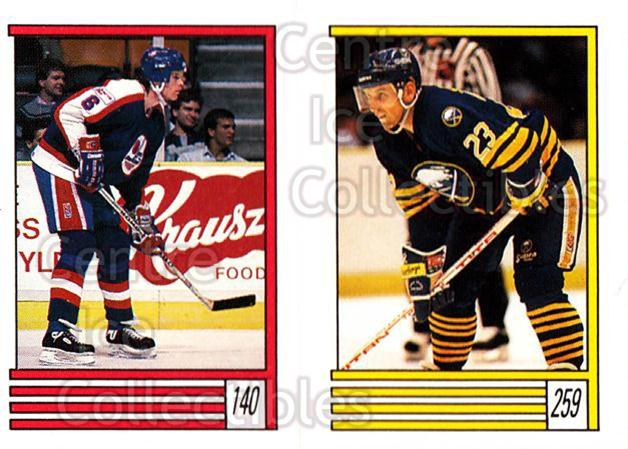 1989-90 O-Pee-Chee Stickers #140-259 Jim Kyte, Ray Sheppard<br/>10 In Stock - $1.00 each - <a href=https://centericecollectibles.foxycart.com/cart?name=1989-90%20O-Pee-Chee%20Stickers%20%23140-259%20Jim%20Kyte,%20Ray%20S...&quantity_max=10&price=$1.00&code=248356 class=foxycart> Buy it now! </a>