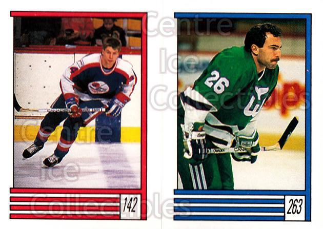 1989-90 O-Pee-Chee Stickers #142-263 Pat Elynuik, Ray Ferraro<br/>12 In Stock - $1.00 each - <a href=https://centericecollectibles.foxycart.com/cart?name=1989-90%20O-Pee-Chee%20Stickers%20%23142-263%20Pat%20Elynuik,%20Ra...&quantity_max=12&price=$1.00&code=248358 class=foxycart> Buy it now! </a>