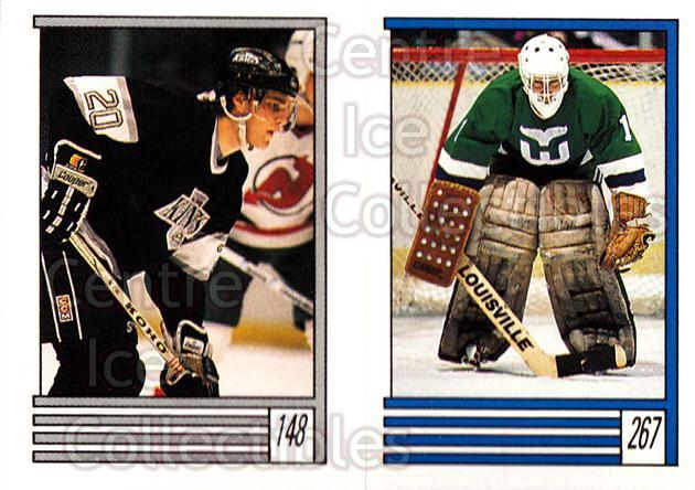 1989-90 O-Pee-Chee Stickers #148-267 Luc Robitaille, Mike Luit<br/>12 In Stock - $2.00 each - <a href=https://centericecollectibles.foxycart.com/cart?name=1989-90%20O-Pee-Chee%20Stickers%20%23148-267%20Luc%20Robitaille,...&quantity_max=12&price=$2.00&code=248363 class=foxycart> Buy it now! </a>