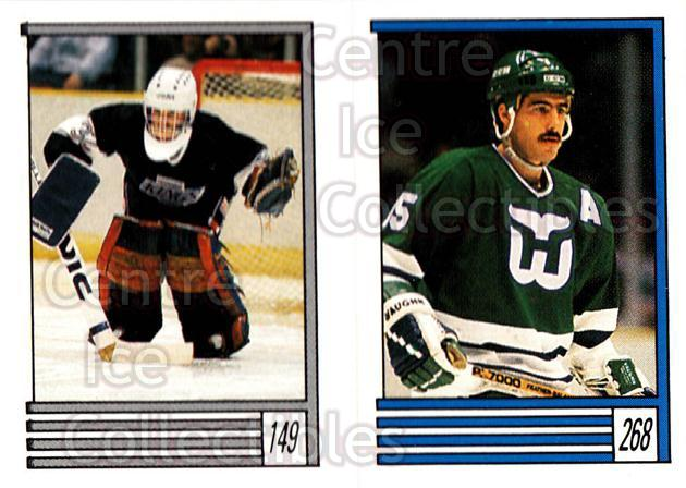 1989-90 O-Pee-Chee Stickers #149-268 Kelly Hrudey, Dave Tippett<br/>8 In Stock - $1.00 each - <a href=https://centericecollectibles.foxycart.com/cart?name=1989-90%20O-Pee-Chee%20Stickers%20%23149-268%20Kelly%20Hrudey,%20D...&quantity_max=8&price=$1.00&code=248364 class=foxycart> Buy it now! </a>