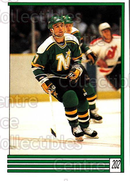 1989-90 O-Pee-Chee Stickers #202-0 Neal Broten<br/>8 In Stock - $1.00 each - <a href=https://centericecollectibles.foxycart.com/cart?name=1989-90%20O-Pee-Chee%20Stickers%20%23202-0%20Neal%20Broten...&quantity_max=8&price=$1.00&code=248379 class=foxycart> Buy it now! </a>