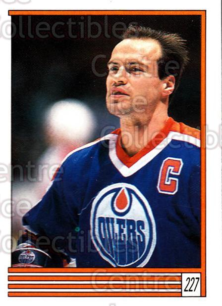 1989-90 O-Pee-Chee Stickers #227-0 Mark Messier<br/>6 In Stock - $2.00 each - <a href=https://centericecollectibles.foxycart.com/cart?name=1989-90%20O-Pee-Chee%20Stickers%20%23227-0%20Mark%20Messier...&quantity_max=6&price=$2.00&code=248386 class=foxycart> Buy it now! </a>
