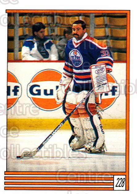 1989-90 O-Pee-Chee Stickers #228-0 Grant Fuhr<br/>7 In Stock - $2.00 each - <a href=https://centericecollectibles.foxycart.com/cart?name=1989-90%20O-Pee-Chee%20Stickers%20%23228-0%20Grant%20Fuhr...&quantity_max=7&price=$2.00&code=248387 class=foxycart> Buy it now! </a>