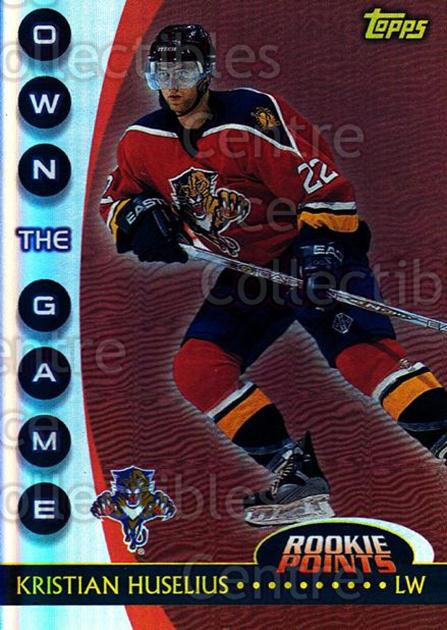 2002-03 Topps Own The Game #13 Kristian Huselius<br/>6 In Stock - $2.00 each - <a href=https://centericecollectibles.foxycart.com/cart?name=2002-03%20Topps%20Own%20The%20Game%20%2313%20Kristian%20Huseli...&quantity_max=6&price=$2.00&code=248407 class=foxycart> Buy it now! </a>