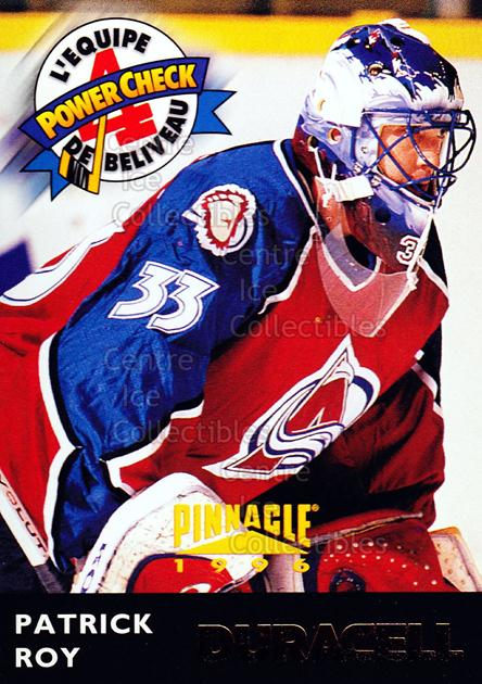 1996-97 Duracell Jean Beliveau All-Star Team #17 Patrick Roy<br/>1 In Stock - $5.00 each - <a href=https://centericecollectibles.foxycart.com/cart?name=1996-97%20Duracell%20Jean%20Beliveau%20All-Star%20Team%20%2317%20Patrick%20Roy...&price=$5.00&code=248472 class=foxycart> Buy it now! </a>