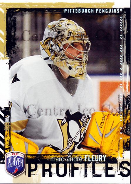 2006-07 Be a Player Profiles #17 Marc-Andre Fleury<br/>1 In Stock - $5.00 each - <a href=https://centericecollectibles.foxycart.com/cart?name=2006-07%20Be%20a%20Player%20Profiles%20%2317%20Marc-Andre%20Fleu...&quantity_max=1&price=$5.00&code=248489 class=foxycart> Buy it now! </a>