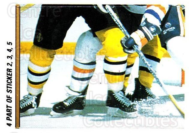 1988-89 O-pee-chee Stickers #004-0 Grant Fuhr, Steve Smith, Boston Bruins<br/>5 In Stock - $2.00 each - <a href=https://centericecollectibles.foxycart.com/cart?name=1988-89%20O-pee-chee%20Stickers%20%23004-0%20Grant%20Fuhr,%20Ste...&quantity_max=5&price=$2.00&code=248506 class=foxycart> Buy it now! </a>